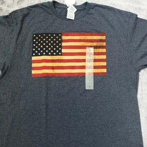 Other - American flag men's t-shirt